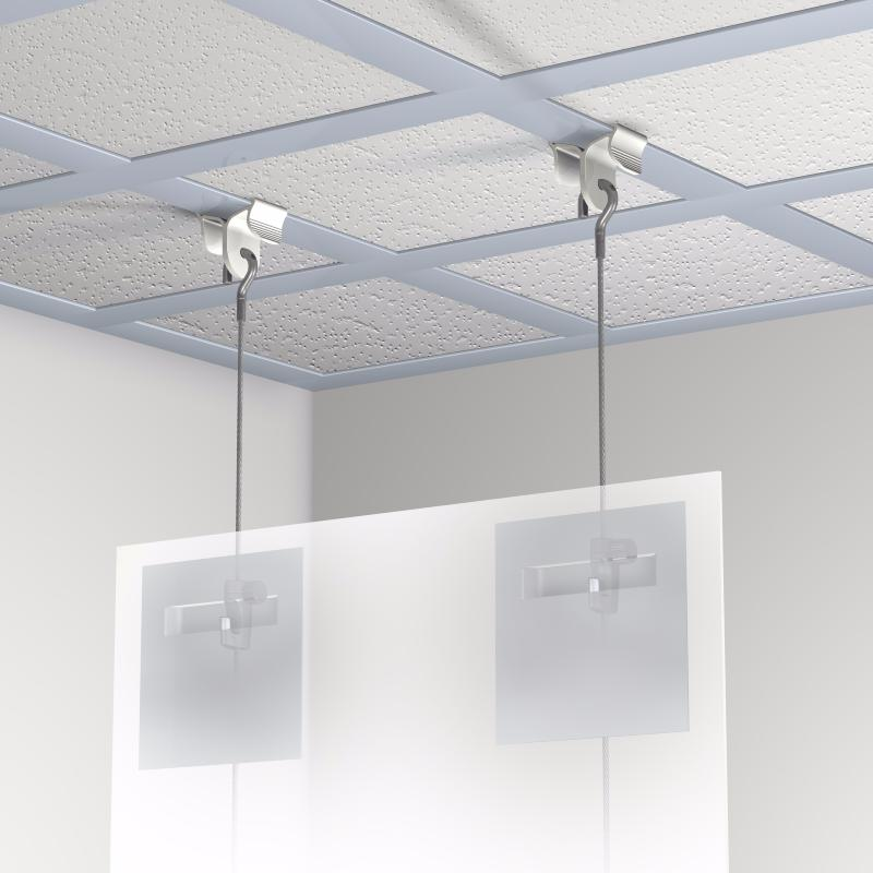 Kit pince suspension faux plafond newly for Materiel faux plafond