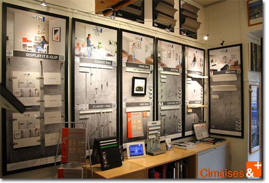 Magasin cimaise vente de cimaise et d 39 eclairage en ligne et en boutique paris - Magasin reproduction tableau paris ...