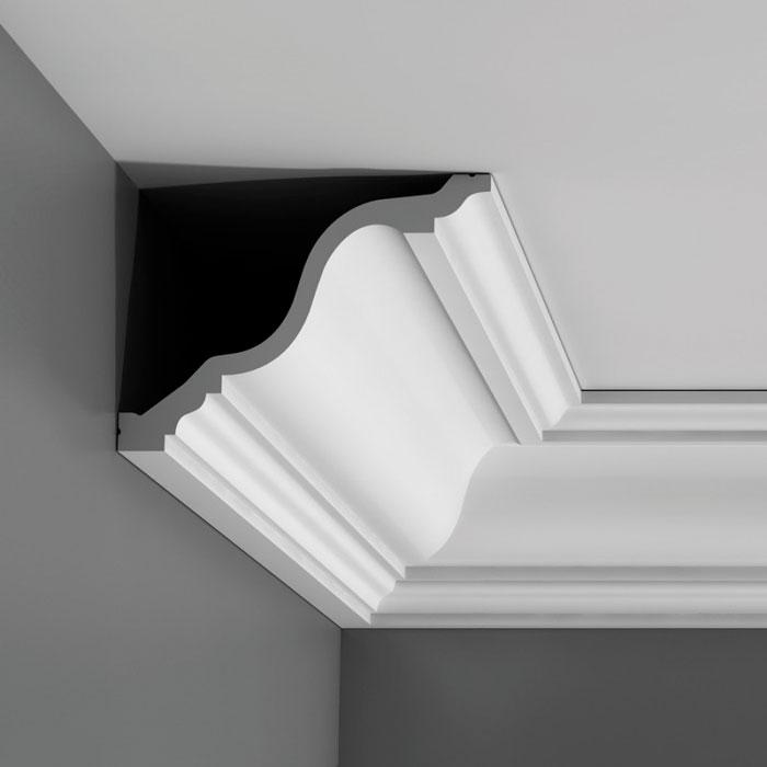 Corniche moulure de plafond luxxus orac decor pour deco rail c334 - Pose corniche polystyrene ...