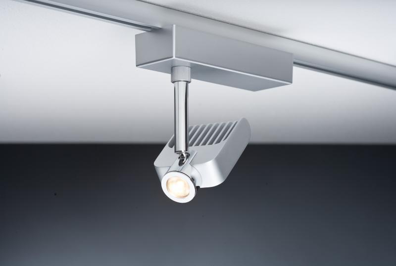 eclairage tableau eclairage sur rail plafond led spot vision ii 8 2w paulmann. Black Bedroom Furniture Sets. Home Design Ideas