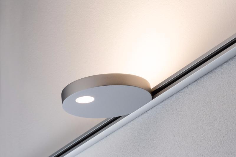 eclairage tableau eclairage sur rail plafond led spot uplight salto 16w paulmann. Black Bedroom Furniture Sets. Home Design Ideas