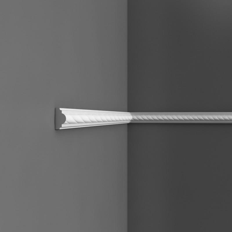 Moulure cimaise axxent orac decor pour deco rail px131 for Decoupe angle corniche