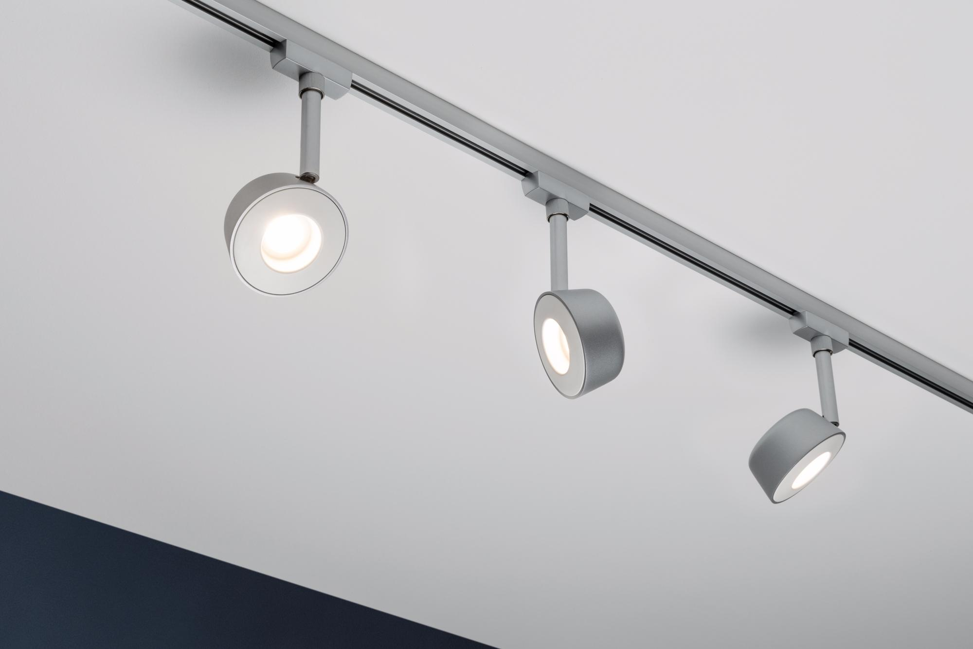 eclairage tableau eclairage sur rail plafond halog ne spot pellet. Black Bedroom Furniture Sets. Home Design Ideas