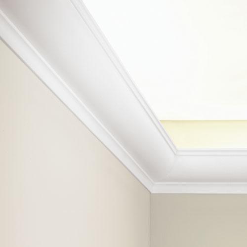 corniche moulure de plafond luxxus orac decor pour deco rail c902. Black Bedroom Furniture Sets. Home Design Ideas