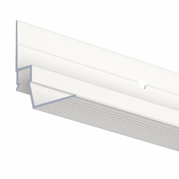 Cimaises ceiling strip rail 300 cm faux plafond artiteq for Materiel pour faux plafond