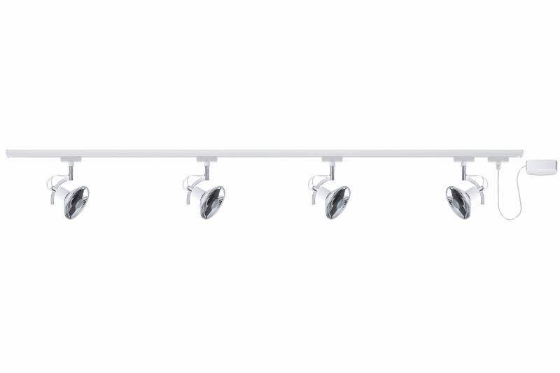 eclairage tableau eclairage sur rail palfond halog ne kit eclairage u rail roncalli paulmann. Black Bedroom Furniture Sets. Home Design Ideas