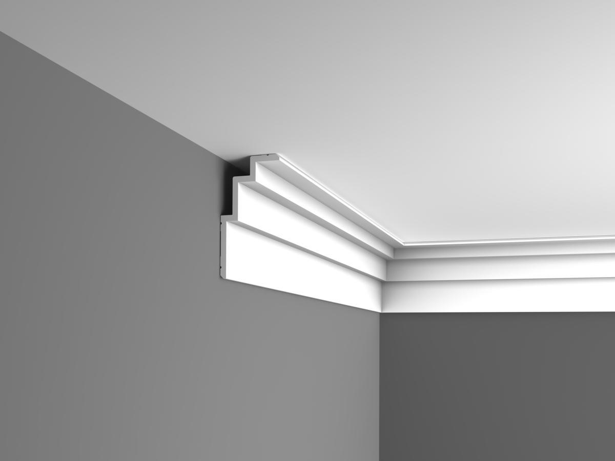 corniche moderne plafond moulure d corative orac decor. Black Bedroom Furniture Sets. Home Design Ideas
