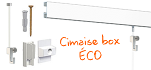 Cimaise Box ÉCO - Kit complet