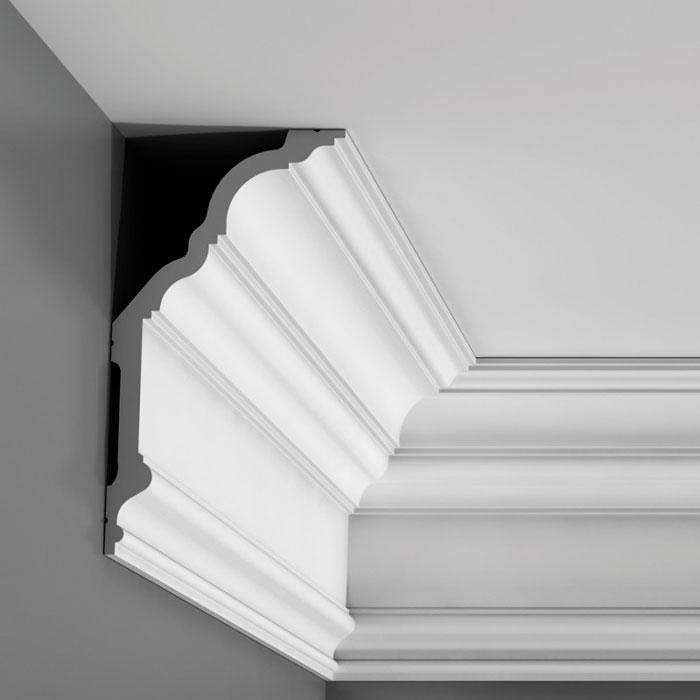 corniche moulure de plafond luxxust orac decor pour deco rail c340. Black Bedroom Furniture Sets. Home Design Ideas