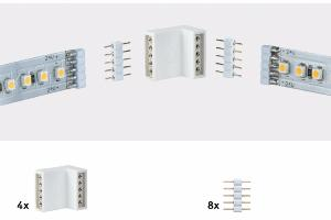 MAX LED EDGE CONNECTOR (4 angles - 8 broches)
