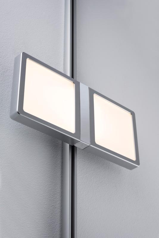 eclairage tableau eclairage sur rail plafond led spot panel double 2x4w paulmann. Black Bedroom Furniture Sets. Home Design Ideas