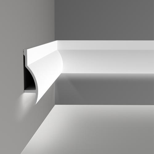 Corniche moulure de plafond axxent orac decor pour eclairage indirect c372 - Boite a onglet pour corniche ...