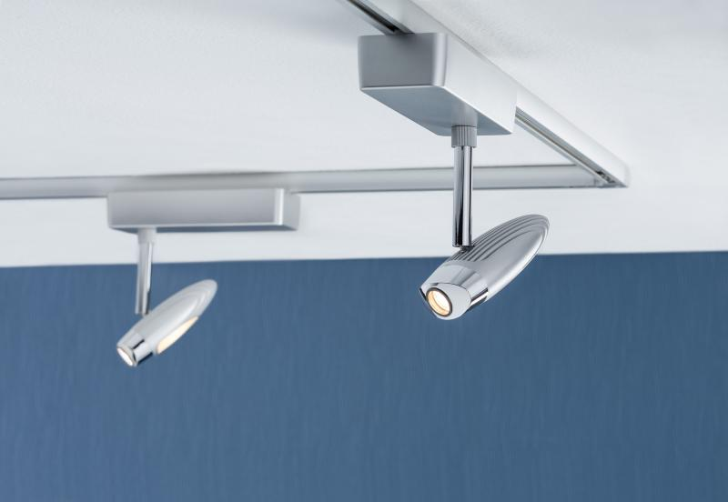 Eclairage tableau eclairage sur rail plafond led spot flood 10 watts paulmann - Eclairage tableau led ...